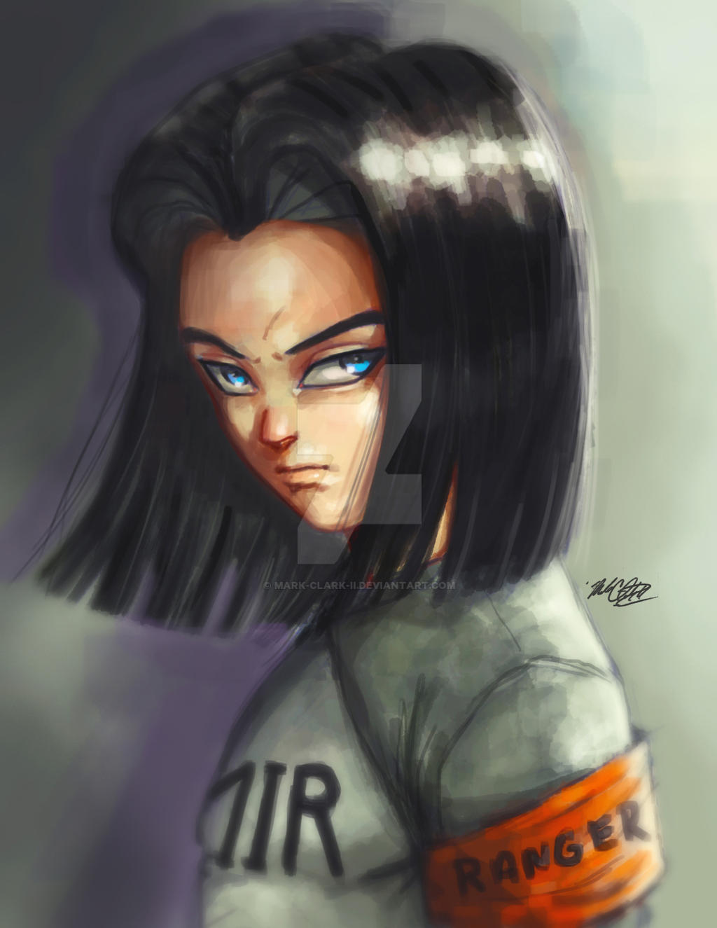 Android17 Dragon Ball Super By Mark Clark Ii On Deviantart