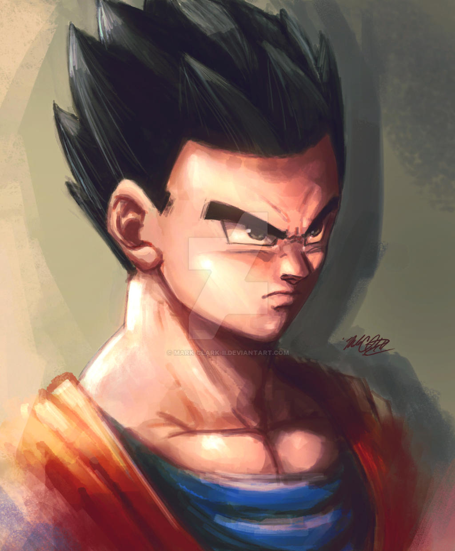 Dragon Ball Super Gohan by Mark-Clark-II