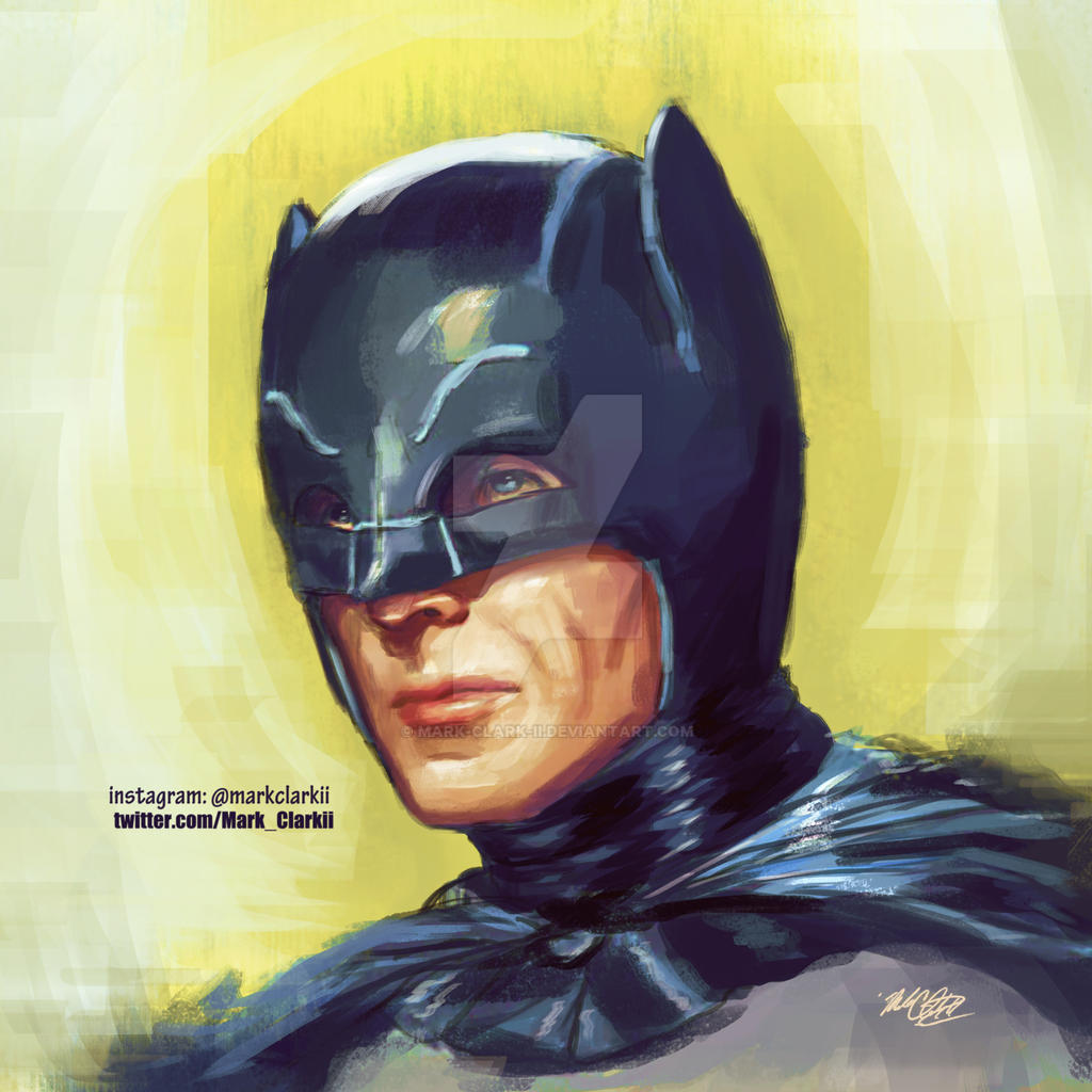Adam west by Mark-Clark-II