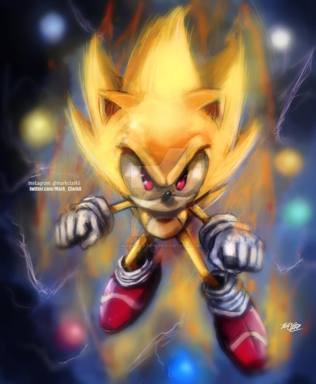 Super Sonic by Mark-Clark-II
