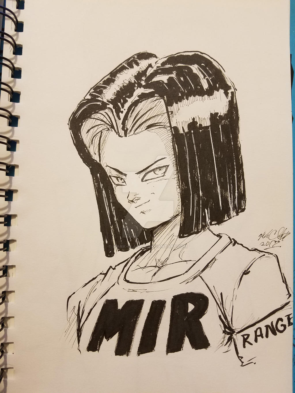 Android17 plus video by Mark-Clark-II