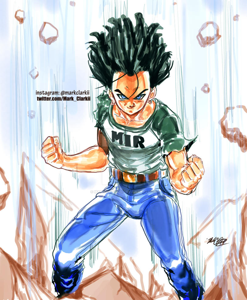 Android 17 is back by Mark-Clark-II