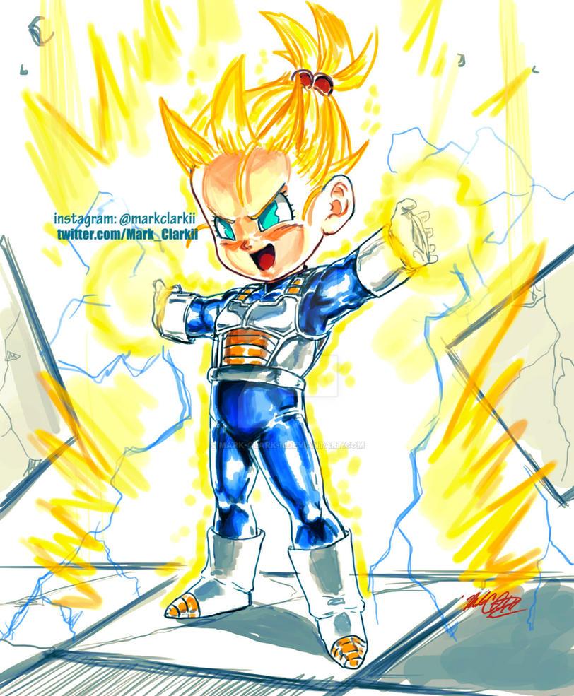 Look dad I can use Final Flash by Mark-Clark-II