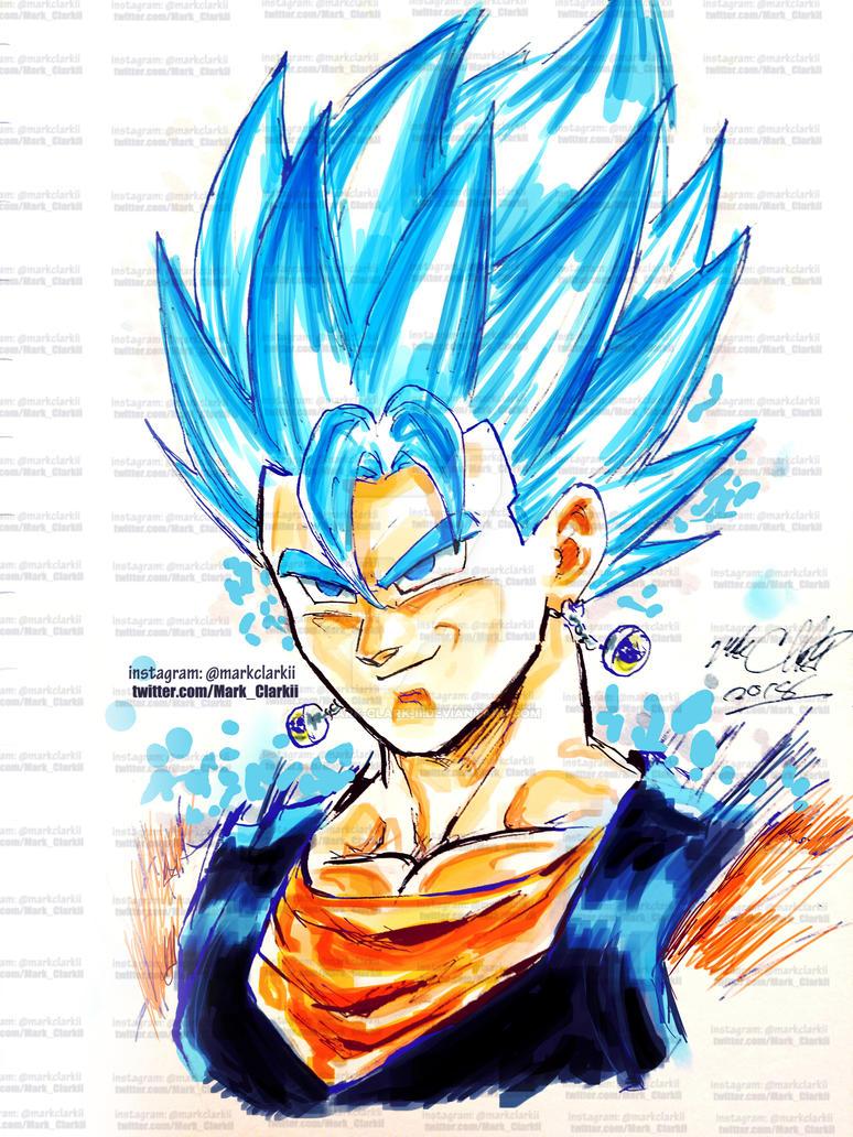 Vegito blue by Mark-Clark-II