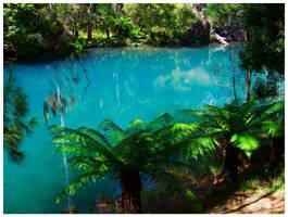 Blue Lake II by Ramio