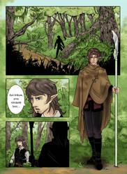 Coloring: Azzedar-san Comic PG01 by AdriennEcsedi