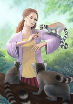 My Lemur Friends