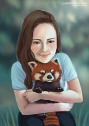 Red Panda Hug