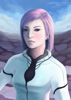 Portrait of Trisha (+Speedpaint video)