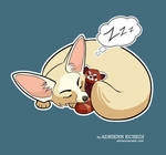 Fennec Fox with Red Panda plush