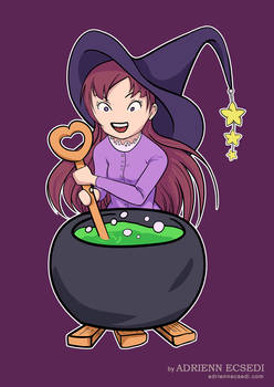 Little Witch Makes Potion (with video)