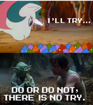 There is no try, Gusty