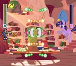 Fighting is Magic - Twilight X3 (Alt) by Mega-PoNEO