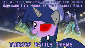 Twiborg Boss Battle Theme title card by Mega-PoNEO