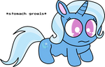 Trixie's stomach growls (Jewelpet style) by Mega-PoNEO