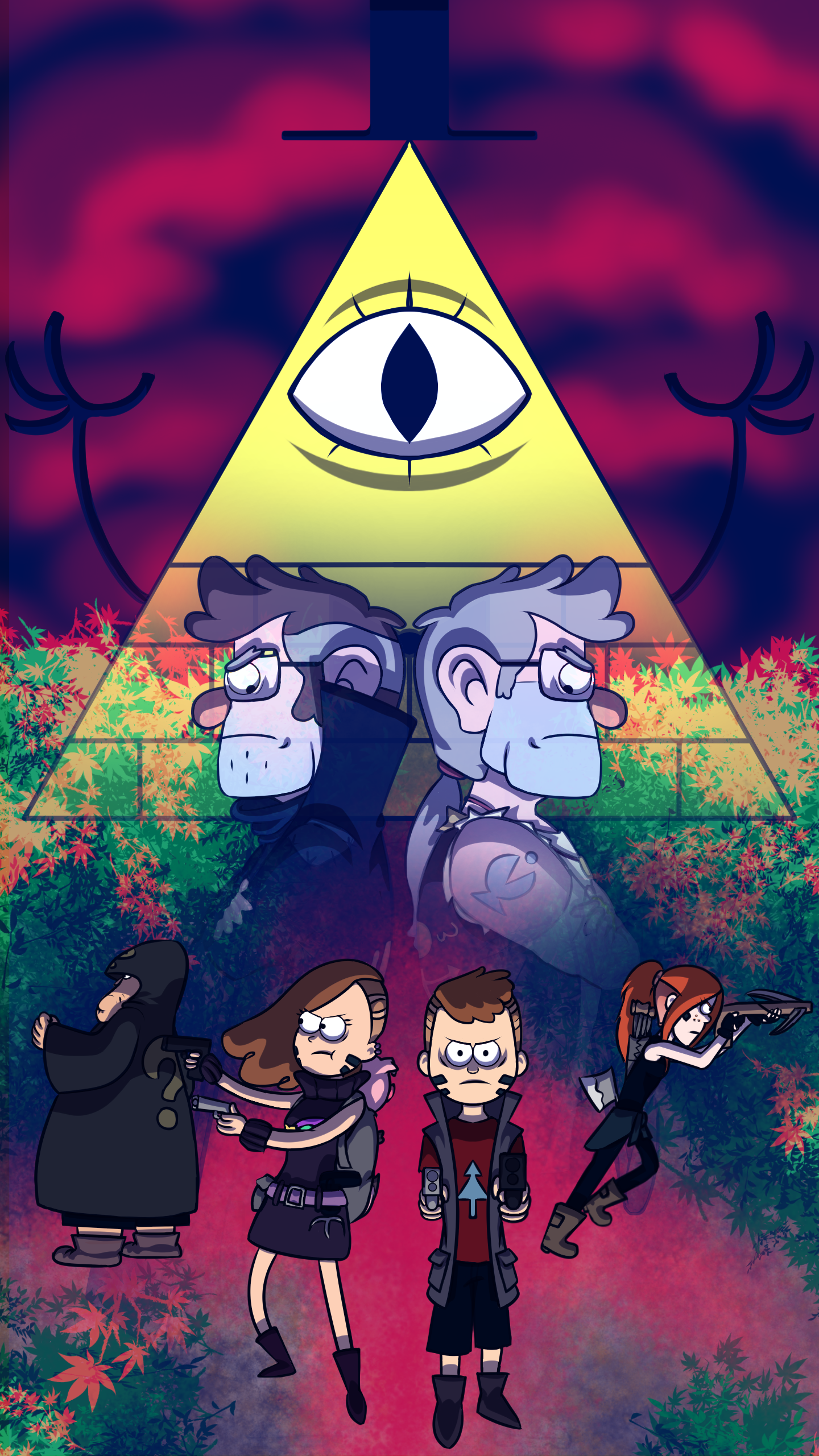 Gravity Falls Auapocalypse Wallpaper By Coralain10 On