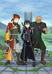 Kirito's Groomsmen