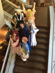 Yona of the Dawn Group Cosplay