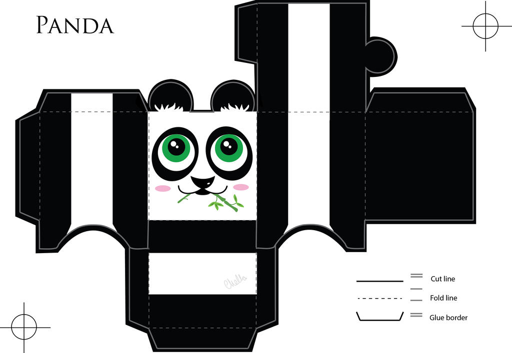 Panda paper craft by veavictis on deviantart panda paper craft by veavictis maxwellsz