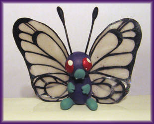 Butterfree Sculpture by HollieBollie