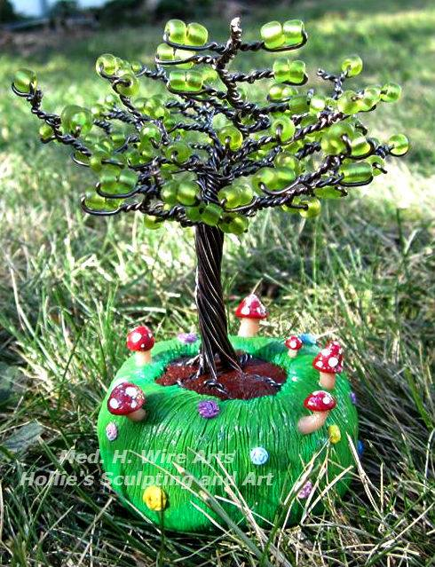 Mini Mushroom tree2 by HollieBollie