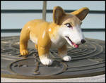 Corgi Sculpture by HollieBollie