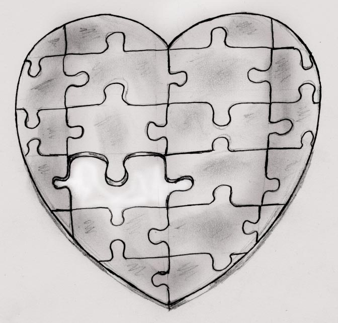 Puzzle Piece Tattoo