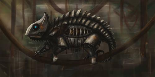 Chameleon by Czinczilla