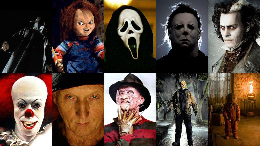 Freddy Vs Jason Vs Chucky Vs Michael Myers Vs Pinhead Horror Killers ...