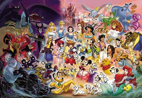 Kingdom Hearts Puzzle Art