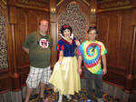 Picture with Snow White by JoshuaOrro