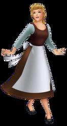 Kingdom Hearts Cinderella (Rags) by JoshuaOrro