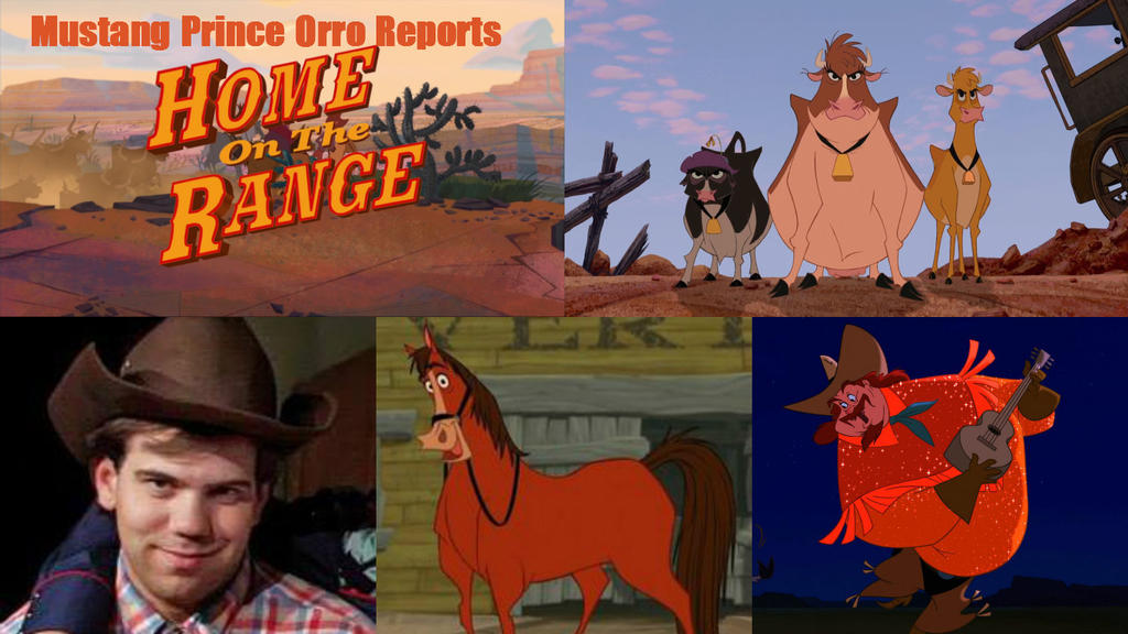 Mustang Prince Orro Reports Home On The Range By
