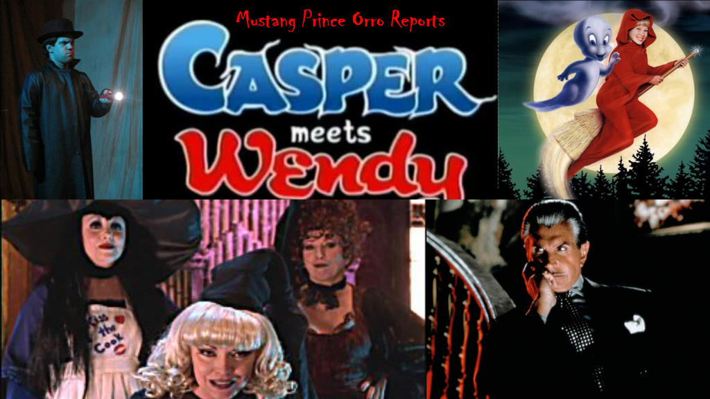 casper and wendy. mustang prince orro reports casper meets wendy by joshuaorro and