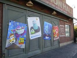 Pixar Posters Cars Styled by JoshuaOrro