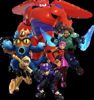 Big Hero 6 KHIII by JoshuaOrro