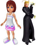 Kingdom Hearts Sisters by JoshuaOrro