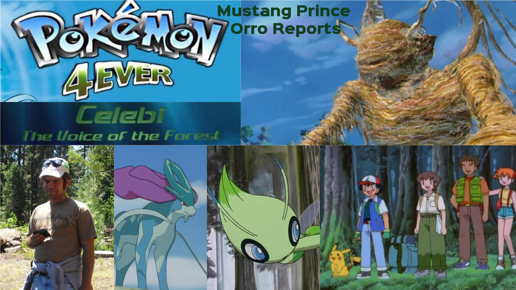 Mpor Pokemon 4ever Celebi The Voice Of The Forest By Joshuaorro