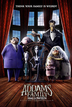 Addams Family (2019) poster