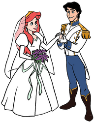 Ariel and Eric Married by JoshuaOrro