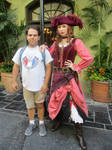 Picture with Redd the Pirate by JoshuaOrro