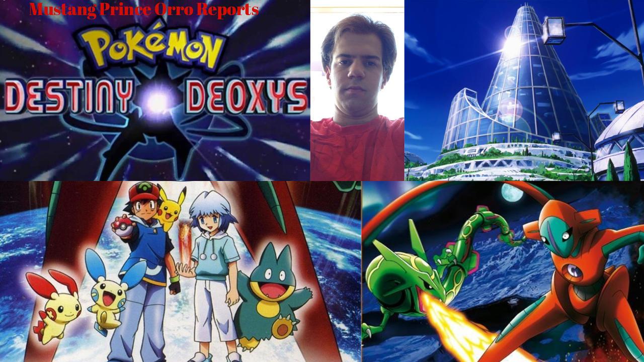 Mpor Pokemon Destiny Deoxys By Joshuaorro On Deviantart