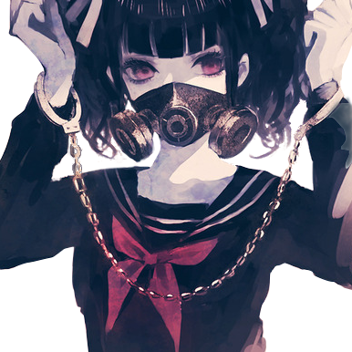 Gas mask render by krjap on deviantart - Anime girl with gas mask ...