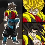 OC: Zaikonis, the fusion of Zaikusu and Leonis by Zaikusu