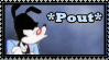Pouting Yakko Stamp by Twizzle-Cayline
