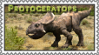 Protoceratops Stamp by Twizzle-Cayline