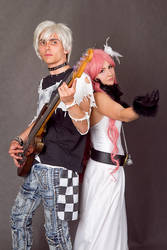 Reira and Shin by Maticomp
