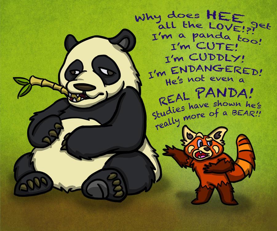 Panda Jealousy by paulcarlisle