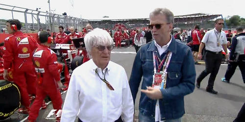 The Musician and Mr. Formula One by ArtEssentIals