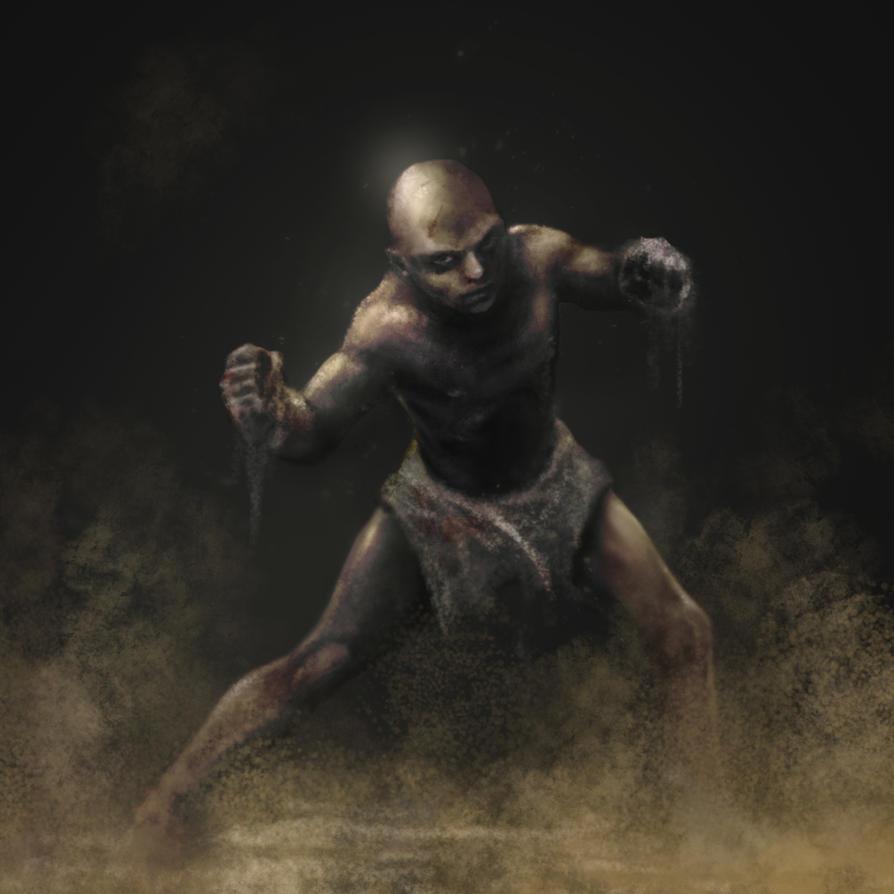 Bronze Slave by GuxD